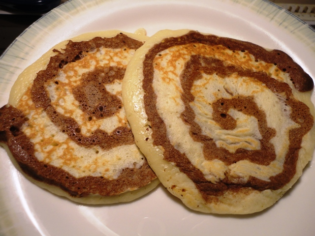 Cinnamon Swirl Pancakes | Try It You Might Like It