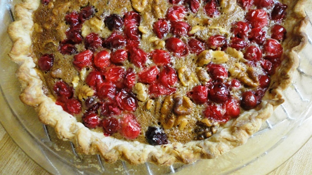 Cranberry Walnut Friendship Pie | Try It You Might Like It