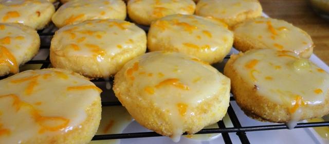 Orange Cornmeal Crisps | Try It You Might Like It