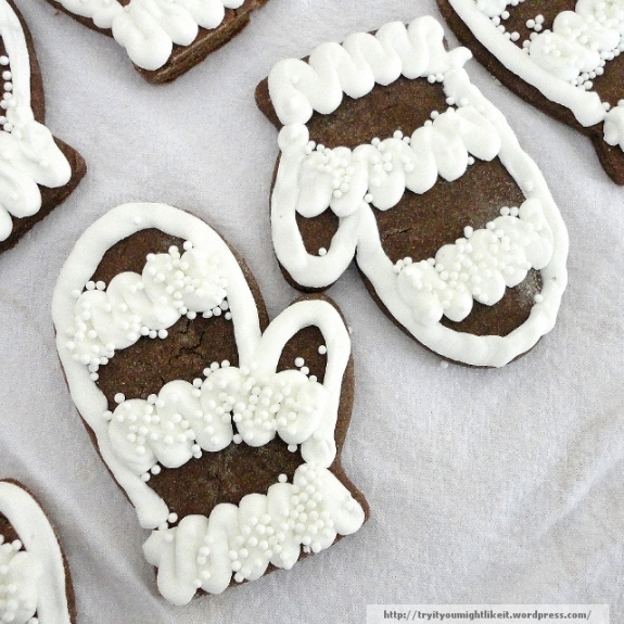 chocolate gingerbread cookies final