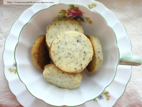 earl grey tea cookies 1