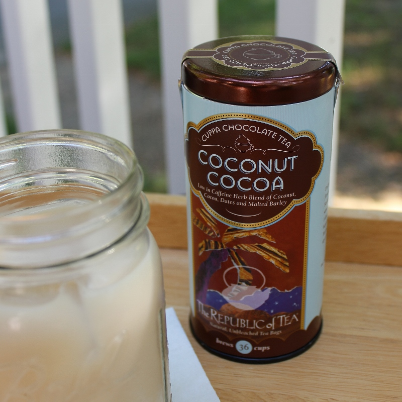this coconut cocoa tea from republic of tea is a
