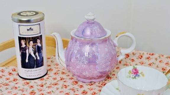 Downton Abbey English Rose Tea 1