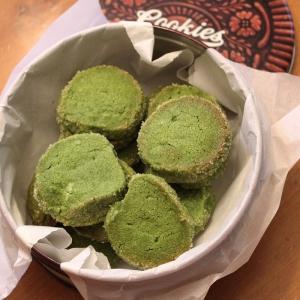 matcha tea cookies 1