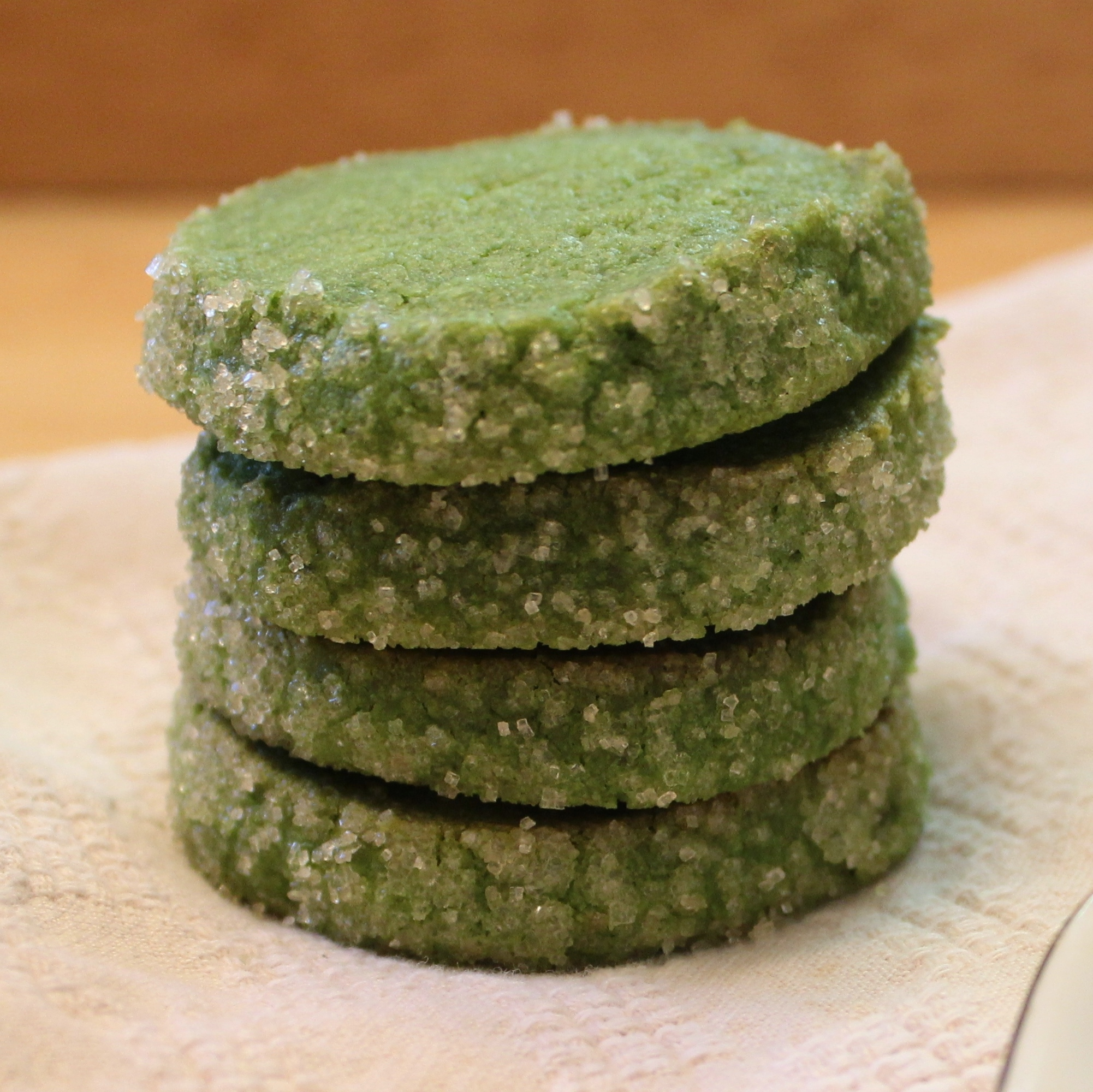Matcha Shortbread Cookies | Try It You Might Like It