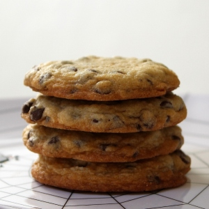 soft and chewy chocolate chip cookies 3
