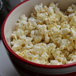 popcorn with olive oil 1
