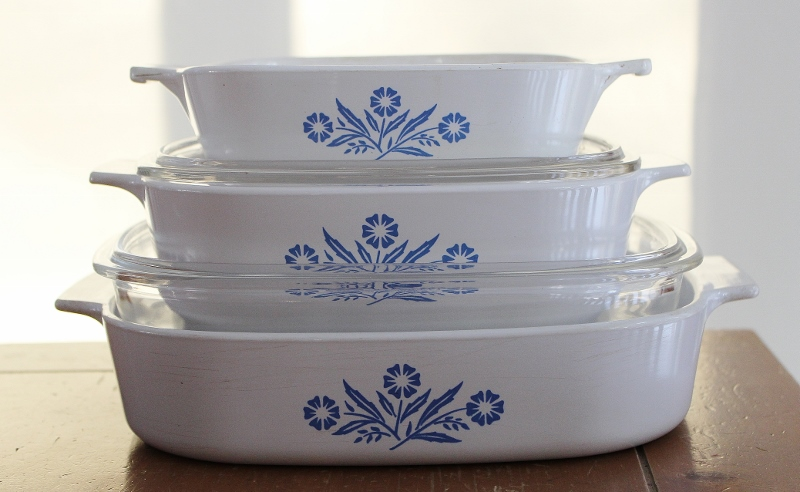 What I Love This Week Vintage Corningware Dishes  Try It You Might