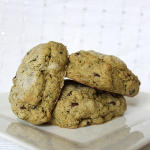 peppermint matcha chocolate chip scones 6