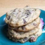 chocolate chip oatmeal cookies 1